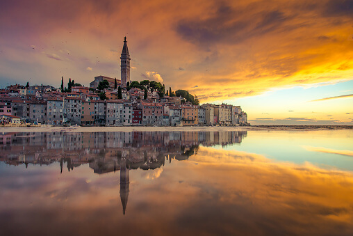 Photo Taken In Rovinj, Croatia